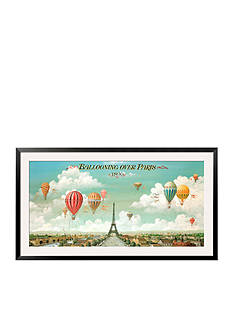 Art.com Ballooning Over Paris, Framed Art Print - Online Only