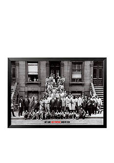 Art.com Jazz Portrait - Harlem, New York, 1958, Framed Art Print, - Online Only