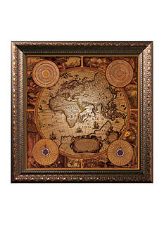 Art.com Antique Map, Cartographica I, Framed Art Print, - Online Only