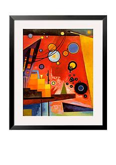 Art.com Heavy Red Framed Art Print - Online Only