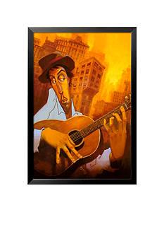 Art.com El Guitarrista Framed Art Print - Online Only