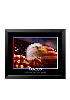 Art.com Patriotic Focus, Framed Art Print, - Online Only