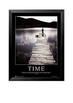 Art.com Time Framed Art Print - Online Only