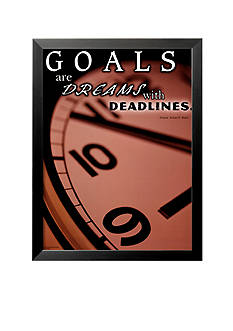 Art.com Deadlines with Gauge Framed Art Print - Online Only