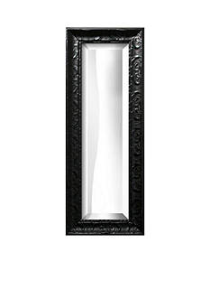 Art.com 13-in. W x 35-in. H Michelangelo Black Wood Framed Mirror - Online Only