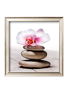 Art.com Orchidee aux Galets, Framed Art Print, - Online Only