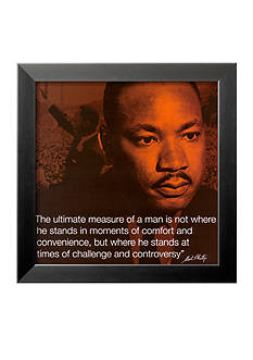 Art.com Martin Luther King, Jr.: Measure Of A Man - Online Only