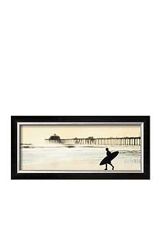 Art.com Surfer at Huntington Beach Framed Art Print