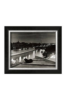 Art.com Paris, Cats at Night Framed Art Print