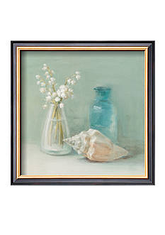 Art.com Lily of the Valley Spa Framed Art Print