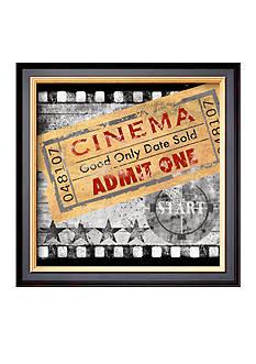 Art.com Cinema, Framed Art Print, - Online Only