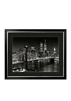 Art.com New York, New York, Brooklyn Bridge Framed Art Print Online Only