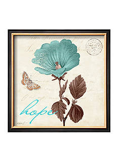 Art.com Touch of Blue III, Hope Framed Art Print