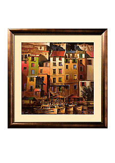 Art.com Mediterranean Gold Framed Art Print Online Only