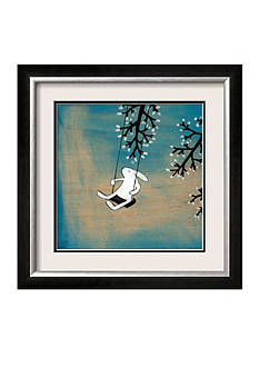 Art.com Follow your Heart-Swinging Quietly Framed Art Print - Online Only