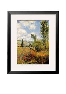 Art.com Ile Saint Martin, Vetheuil, Framed Art Print, - Online Only