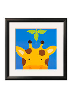 Art.com Peek-a-Boo VII, Giraffe Framed Art Print - Online Only