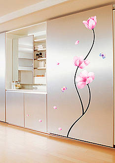 Art.com Perfect Flower Stem Wall Decal