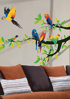 Art.com Parrots Wall Decal Sticker Wall Decal Online Only