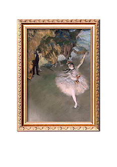 Art.com The Star, Or Dancer on the Stage, Circa 1876-77 Framed Giclee Print - Online Only