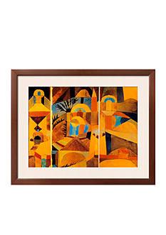 Art.com Il Giardino del Tempio, Framed Art Print, - Online Only