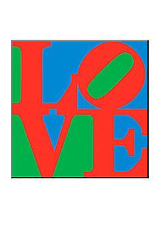 Art.com Classic Sky Love, Wood Mount