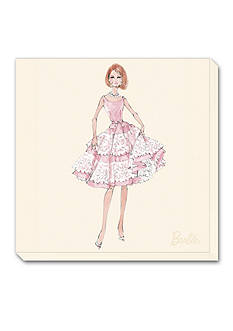 Art.com Barbie®, Southern Charm, Stretched Canvas Print - Online Only