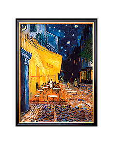Art.com The Cafe Terrace on the Place Du Forum, Arles, At Night, c.1888 Framed Art Print