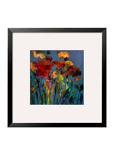 Art.com Blue Flower, Framed Art Print, - Online Only