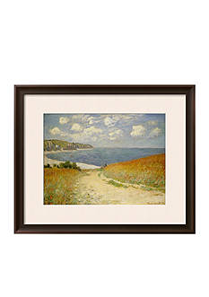 Art.com Path in the Wheat at Pourville, 1882 Framed Giclee Print - Online Only