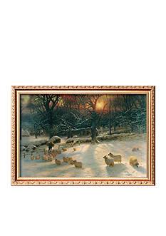 Art.com The Shortening Winter's Day Framed Giclee Print - Online Only