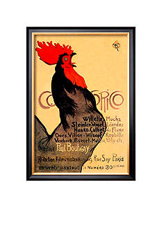 Art.com Cocorico, C.1899, Framed Art Print