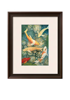 Art.com Reflecting Koi II, Framed Art Print, - Online Only
