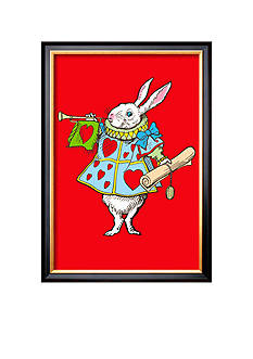 Art.com Alice in Wonderland: Horn and Hearts Framed Art Print Online Only