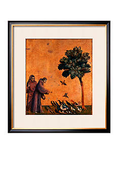 Art.com St. Francis of Assisi Preaching to the Birds Framed Giclee Print