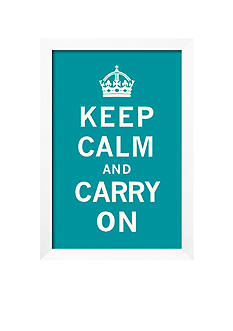 Art.com Keep Calm and Carry On Framed Giclee Print - Online Only