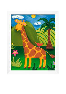 Art.com Gerry The Giraffe Framed Giclee Print - Online Only