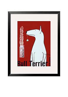 Art.com Bull Terrier Tea Framed Giclee Print Online Only
