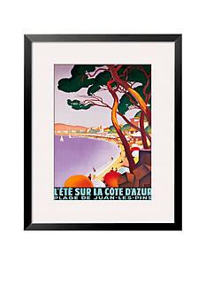 Art.com L'Ete Sur La Cote D'Azur Framed Giclee Print - Online Only