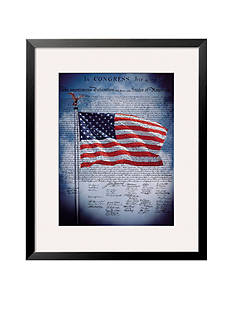 Art.com The Declaration of Independence Framed Giclee Print - Online Only