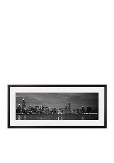 Art.com Chicago - B&W Reflection Framed Photographic Print Online Only
