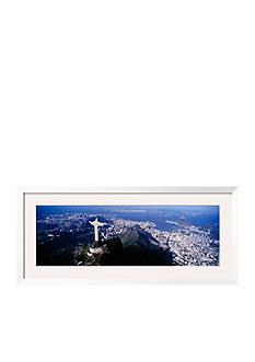 Art.com Aerial, Rio de Janeiro, Brazil Framed Photographic Print Online Only