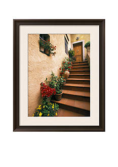 Art.com Tuscan Staircase, Italy Framed Photographic Print - Online Only