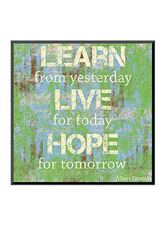 Art.com Learn Live Hope Mounted Print - Online Only