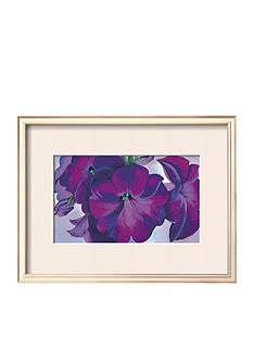 Art.com Petunias, c.1925, Framed Art Print, - Online Only