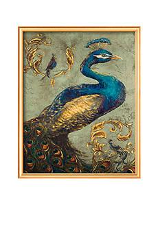 Art.com Peacock on Sage I, Framed Art Print - Online Only