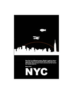 Art.com New York Night Poster Canvas Set - Online Only
