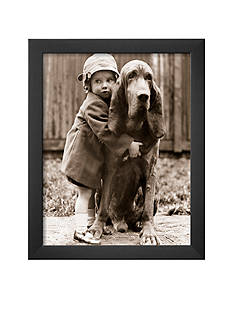 Art.com Girl's Best Friend, Framed Art Print - Online Only