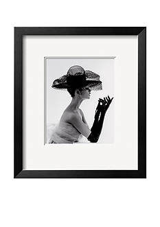Art.com Madame Paulette Net Hat, c.1963, Framed Art Print