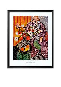 Art.com Purple Robe, Framed Art Print, - Online Only